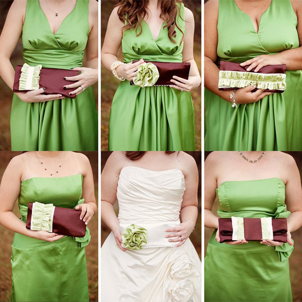 Clutches–The NEW bridesmaid bouquet.. Or NOT? | Purple Rain